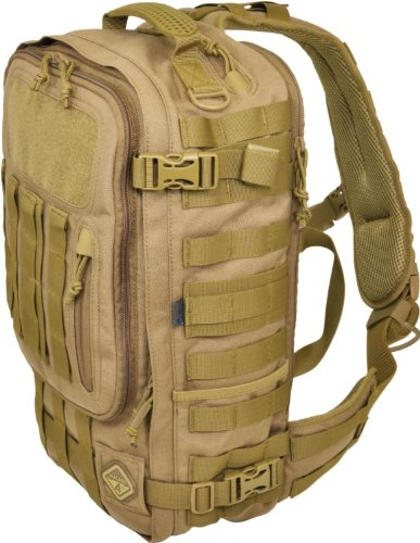 Sidewinder(TM) Full-Sized Laptop Sling Pack by Hazard 4(R) - Coyote by HAZARD 4