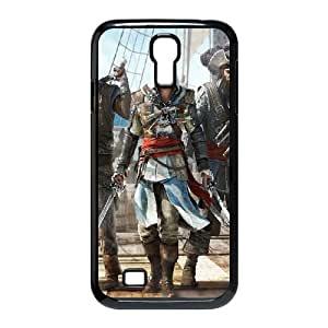 Samsung Galaxy S4 9500 Cell Phone Case Black Geeks Assassins Creed Colorful Pirate Weapon LSO7925475