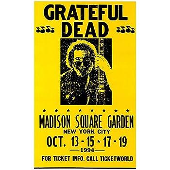 Grateful Dead Concert Poster Madison Square Garden New York City Prints Posters