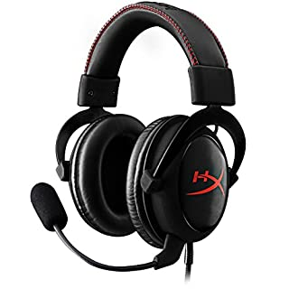 HyperX Cloud Core Gaming Headset - Durable Aluminum Frame - 53MM Drivers - Detachable Microphone - Works with PC/PS4 & Xbox One, Nintendo Switch (KHX-HSCC-BK) (B0153XL4V2) | Amazon Products