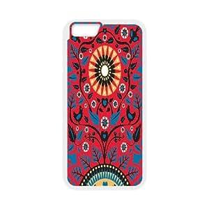 Jumphigh Textile IPhone 6 Plus Case Love Grows Textile, Textile, {White}