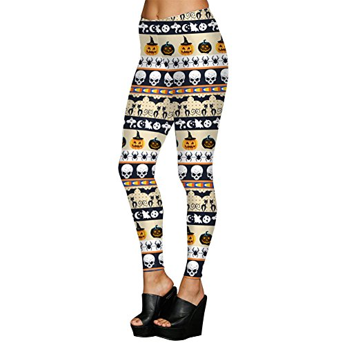 MS Mouse New Halloween Fashion 3D Digital Print Stretchy Leggings Tights -