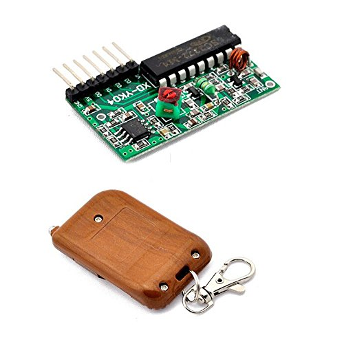 Solu IC 2262/2272 4 Channel Key Wireless Remote Control 315MHZ Receiver module For Arduino// IC2262 2272 4 channel wireless remote control kits 4 key wireless remote control