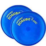 2x Blue Dogobie Dog Flying Disc Toy 8''