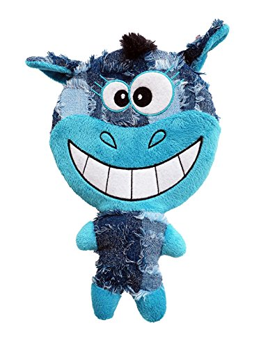 Plush Happy Day Face Dog Toy 10.5-