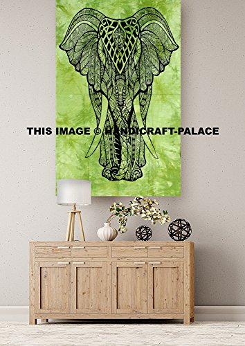 Indian Posters Wall Hanging Elephant Yoga Mat Poser Wall ...