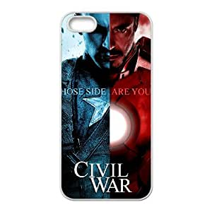 iPhone 5,5S Phone Case Iron Man SX23321