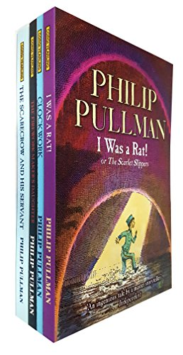 - philip pullman collection 4 books set (the firework maker's daughter, clockwork, i was a rat!: or, the scarlet slippers, the scarecrow and his servant)