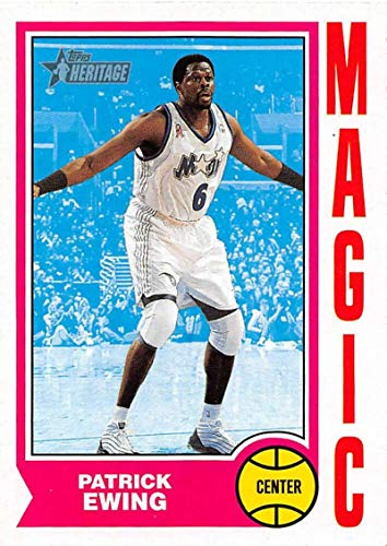 2001-02 Topps Heritage Basketball #198 Patrick Ewing Official NBA Trading Card
