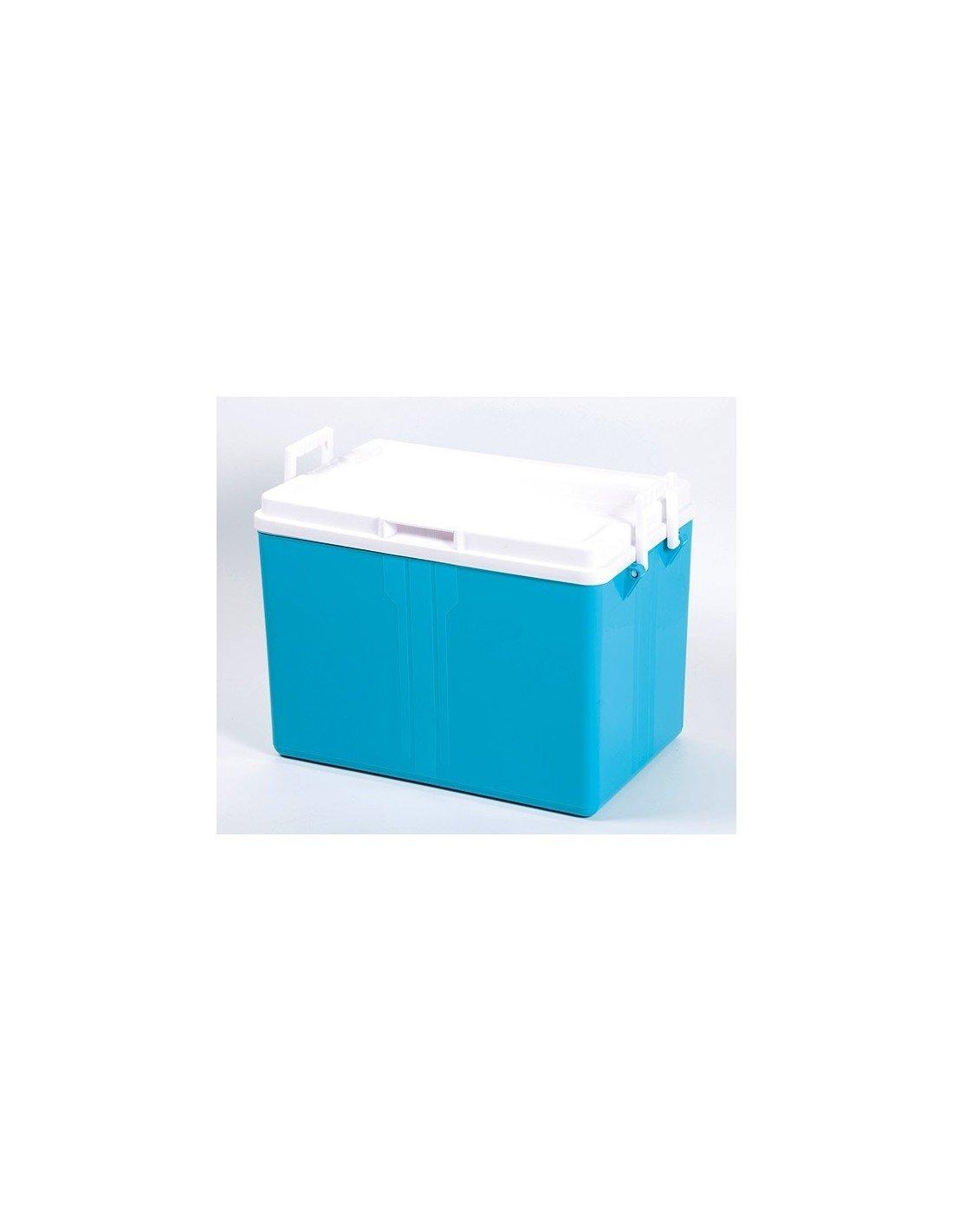 EDA PLASTIQUES davgl52 Kühlbox Kunststoff blau türkis 52 L