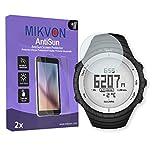 MIKVON 2X AntiSun Screen Protector for Suunto Core Glacier - Retail Package with Accessories