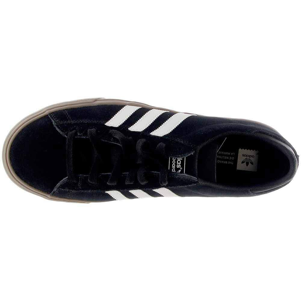 b5f83c50eac8a adidas Campus Vulc II 80s Skate Shoes Black White Gum - 7