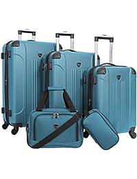3-4-5 Piece Set Sky+ Spinner Luggage Set