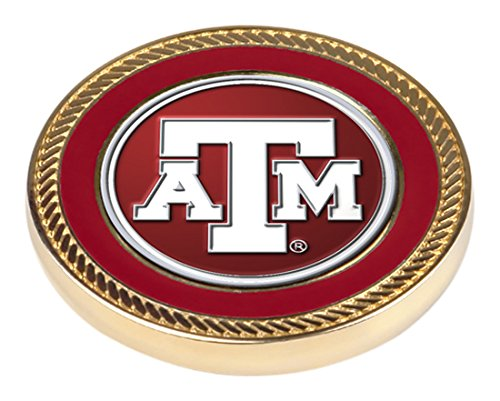 NCAA Texas A&M Aggies - Challenge Coin / 2 Ball Markers (2 Coins Commemorative)