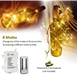 [Remote Control] 100 LEDs Indoor Battery Fairy Lights (Warm White, 10M, Timer) for Christmas Tree, Festive, Birthday…
