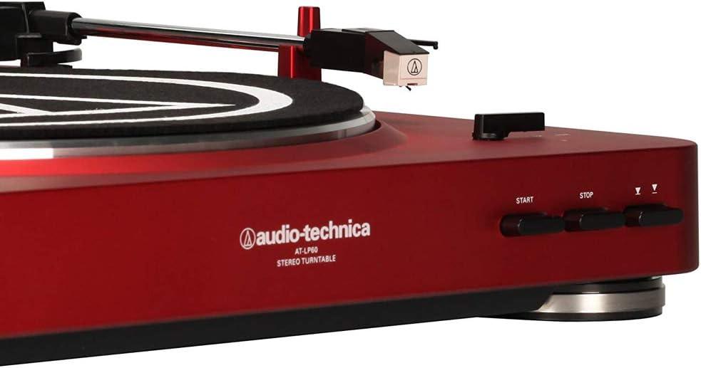 Audio-Technica AT-LP60NV-BT - Tocadiscos estéreo inalámbrico ...