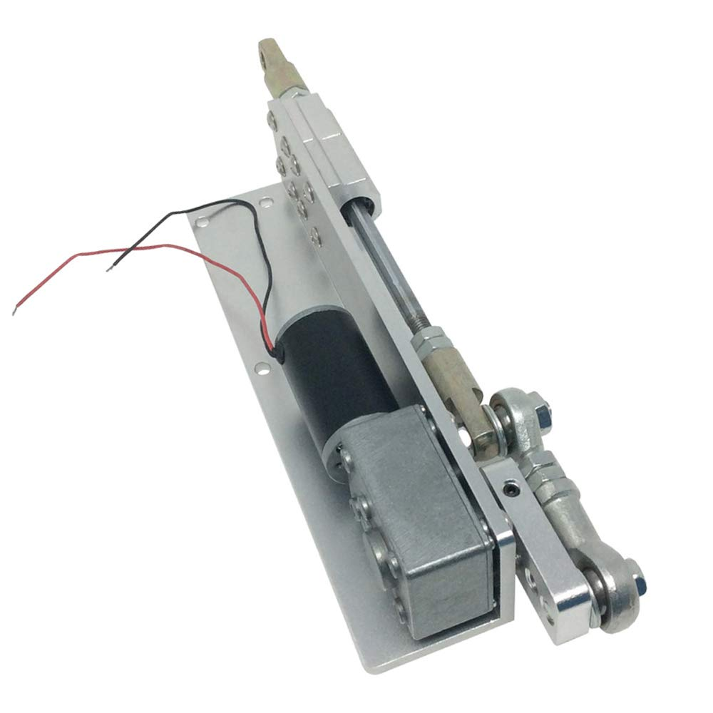UCONTRO Reciprocating Cycle Linear Actuator with DC Gear Motor 12VDC Stroke 30mm CW CCW 470 RPM