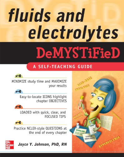 Fluids and Electrolytes Demystified (Demystified Nursing) Pdf