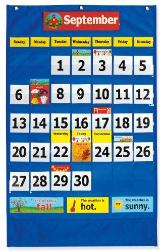 Pacon Calendar Weather Pocket Chart (0020800) Photo #3