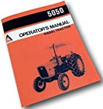 Allis Chalmers Ac 5050 Operators Owners Manual Diesel Tractor Maintenance Adjust