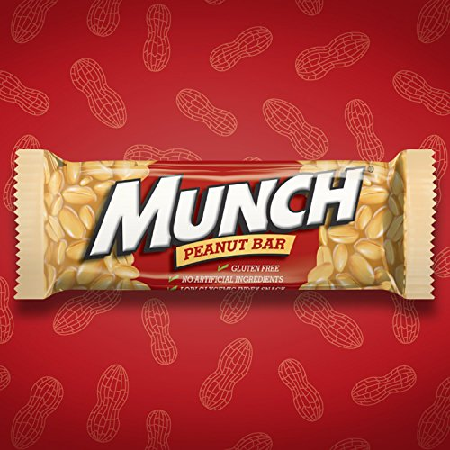 Amazon.com : MUNCH Peanut Bar Singles Size 1.42-Ounce Bar 36-Count on planters chipotle peanuts, planters spanish peanuts, planters cocktail peanuts, planters salted caramel nut bar, planters big nut bar, planters mixed nuts, planters brittle bar, honey bar, planters penuts, planters redskin peanuts, planters chocolate filled peanuts, planters peanuts gifts, planters peanuts holiday pack, planters nuts and chocolate, planters dry roasted peanuts 6 oz, planters candy, planters nuts products, planters nutmobile, planters honey roasted peanuts, planters brittle nut medley,