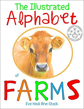 Illustrated Alphabet of Farms