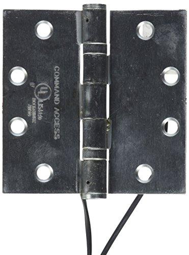 Command Access ETH2W4545 Power Transfer Hinge 2 Wire Square Corner - Satin Chrome Square Corner