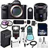 Sony Alpha a7R II Mirrorless Digital Camera (International Model) + Sony Sonnar T FE 55mm f/1.8 ZA Lens + 49mm 3 Piece Filter Kit Review