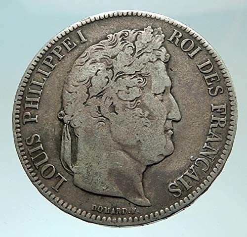 1841 FR 1841 FRANCE King Louis Philippe I French Antique coin Good Uncertified
