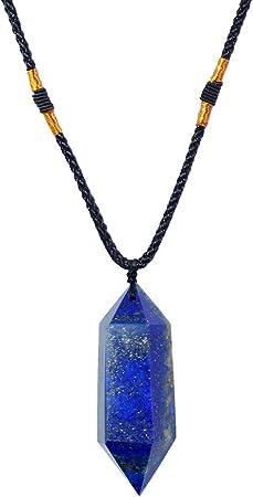Healing Lapis Necklace Chakra Healing Lapis Necklace Lapis Lazuli Necklace