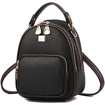NaSUMTUO Mini Backpack Purse Handbag Shoulder Bag for Daily Work Hiking  Travel School f4339c8e243b5