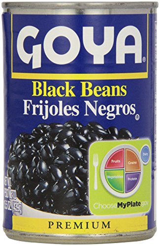 - Goya Canned Black Beans, 15.5 Oz