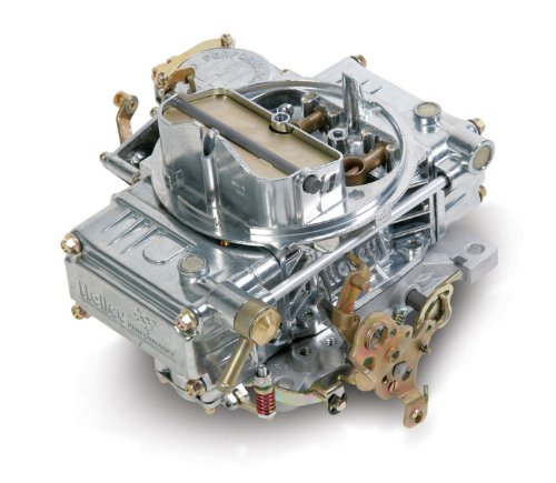 Holley 0-1850S Model 4160 Street Performance 600 CFM Square Bore 4-Barrel Vacuum Secondary Manual Choke New Carburetor - Bore 4 Barrel Vacuum Secondary