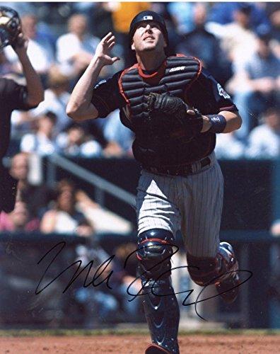 (Mike Redmond Autographed Photo - 8x10 - Autographed MLB Photos)
