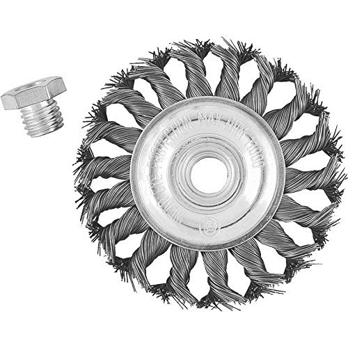 (VULCAN 694341OR Knot Wire Wheel Brush, 4