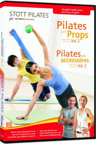 STOTT PILATES Pilates with Props Volume 2 (English/French)