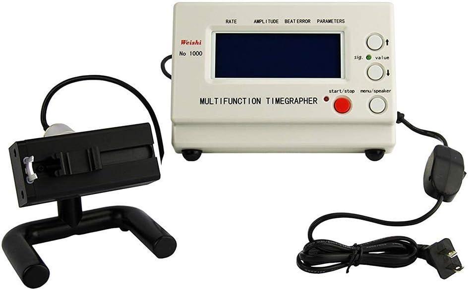 Kacsoo Timegrapher NO.1900 Uhrentimer Multifunktionstester Reparaturwerkzeuge Tester Uhr Timing Maschine Timegrapher Mechanisch