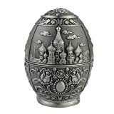 Quality Fashion Classic Handmade Auto Antomatic Toothpick Holder Royal Russian Style (Castle Flower)