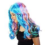 "Rainbow High Rainbow Wig – 18"""" Role Play Wig for"