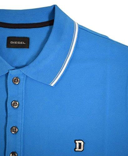 Diesel Herren Poloshirt blau blau Einheitsgröße