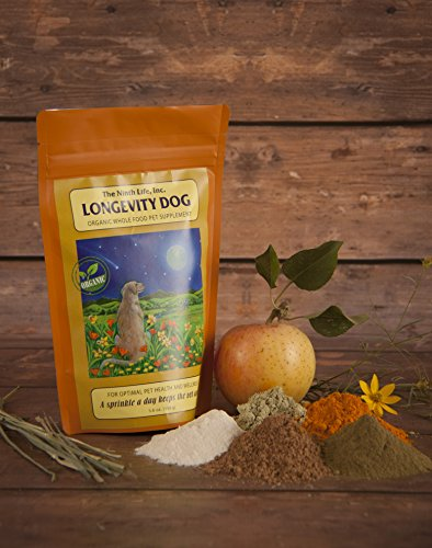The Ninth Life, Inc. Longevity Dog - Organic Dog Vitamin Supplement