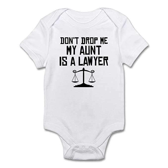 40d7cc049 CafePress - My Aunt Is A Lawyer Body Suit - Cute Infant Bodysuit Baby  Romper: Amazon.ca: Clothing & Accessories