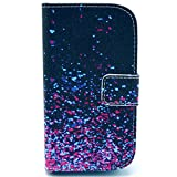 S7580 Case,XYX [Kickstand][Random color] Premium PU Leather Wallet Case with Stand Flip Cover for Samsung Galaxy Trend S7560/Galaxy Trend Plus S7580/Galaxy S Duos S7562/Galaxy S Duos 2 S7582