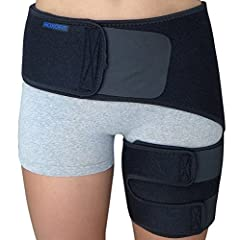 Roxofit Groin Compression Support has been specifically designed to help relieve pain resulting from groin pull, thigh injury, sciatica, sacroiliac joint dysfunction, or related conditions. Therapeutic neoprene helps to retain body heat needed to ...