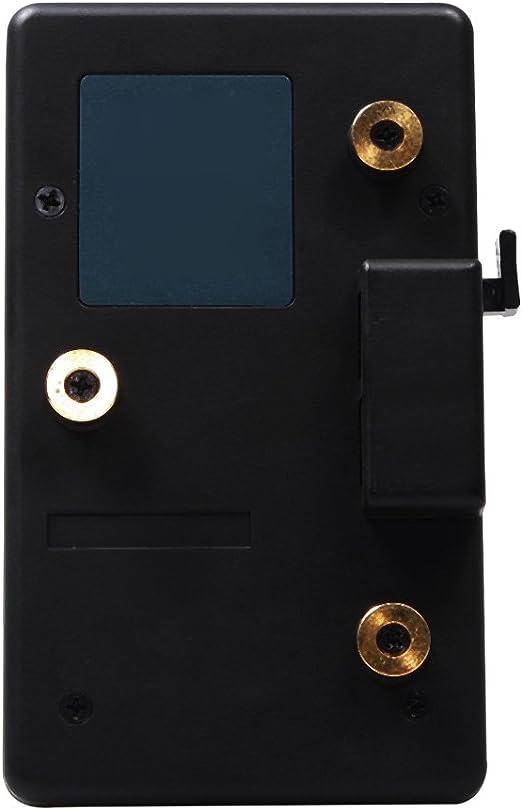 Adaptateur de Plaque de Batterie en m/étal pour Sony V-Mount Batterie V-Lock pour Appareil Photo Reflex num/érique Mugast Plaque de Batterie V-Mount