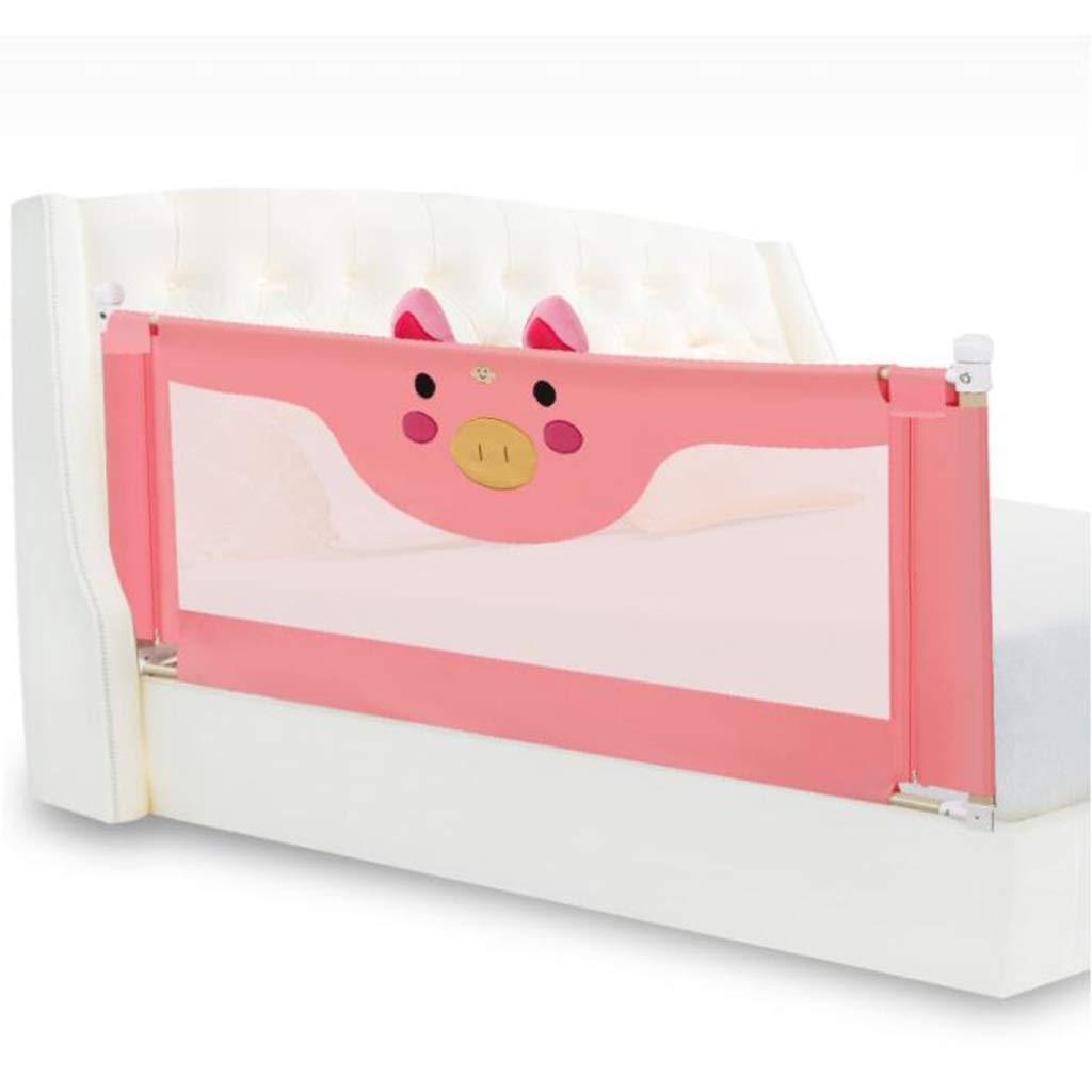 Baby Box Culla guardrail baby bedside fence infrangibile letto ringhiera letto universale deflettore (lato singolo) Forte e durevole   Realizzato con materiali non to ( Colore   B , Dimensione   180X92cm )