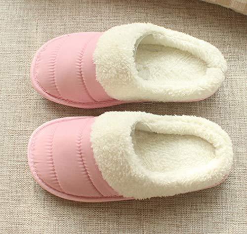 Pantofole Caldo Paio Antiscivolo Rosa pattino E Velluto Sed In Autunno Pantofola Sci Casa Cotone Da Inverno xw7xYUXq