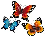Metal Butterflies Set of 3 by Maple Lane Creations
