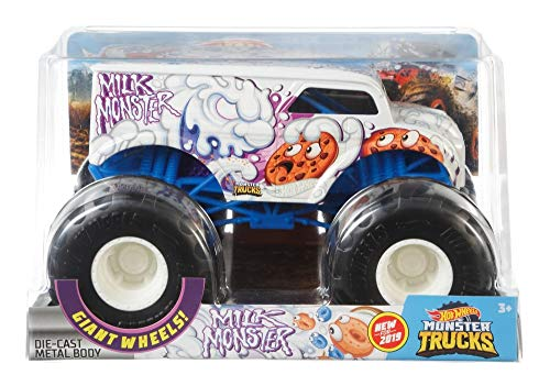 Hot Wheels Monster Trucks Milk Monster Vehicle, 1:24 Scale for $<!--$11.99-->