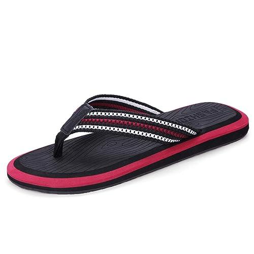 Zapatillas Antideslizantes Interiores de Verano Chanclas Negras Zapatillas Deportivas al Aire Libre de Cool Beach Shoes para Hombres: Amazon.es: Zapatos y ...